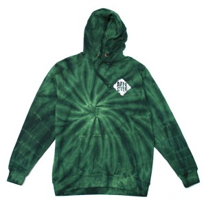 High Dyed Hoodie (Green)[aff140917b]
