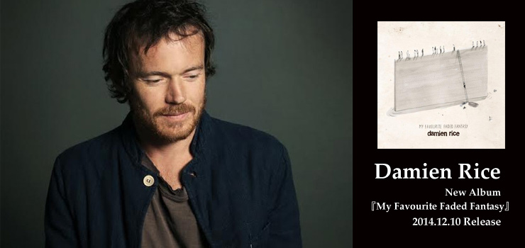 Damien Rice - New Album 『My Favourite Faded Fantasy』 Release