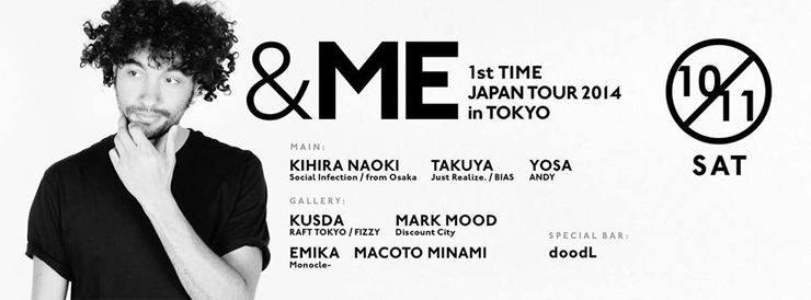 &ME 1st TIME JAPAN TOUR 2014 in TOKYO - 2014.10.11(sat) at 表参道ORIGAMI