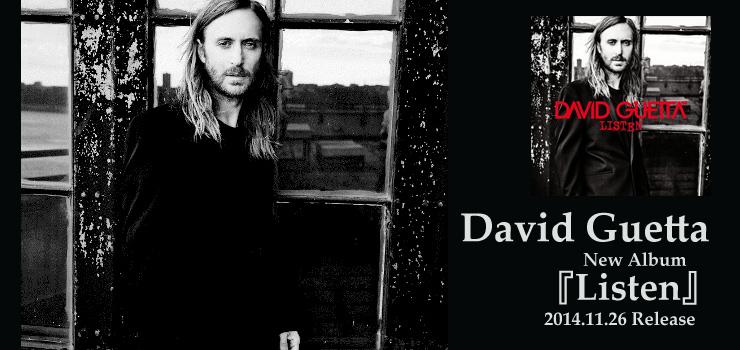 David Guetta - New Album 『Listen』 Release