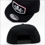 SRH SNAP BACK CAP DAMAGE CONTROL BLACK