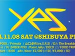 no entry 3rd Album release party!!! 『yes』 2014.11.08(sat) at SHIBUYA PLUG