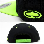 SRH SNAP BACK CAP SUPPLIER CO BLACK