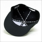 SRH SNAP BACK CAP BOLTS BLACK