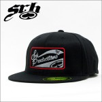 SRH フレックスCAP PRODUCTION PATCH 210 FLEXFIT BLACK
