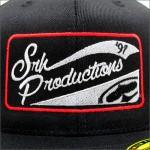 SRH フレックスCAP PRODUCTION PATCH 210 FLEXFIT BLACK