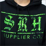 SRH プルオーバーパーカー SUPPLIER CO 黒