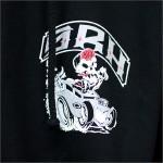 SRH ZIPパーカー HOT ROD 黒