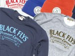 BLACK FLYS – new item's (Knit cap & Crew neck )