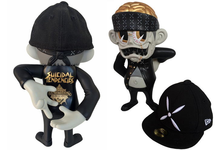 "Suicidal Tendencies x BlackBook Toy コラボフィギュア: S K UM-kun ""90291"" edition"
