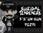 """Suicidal Tendencies x BlackBook Toy コラボフィギュア: S K UM-kun """"90291"""" edition"""