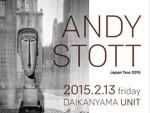 ANDY STOTT Japan Tour 2015 – 2015.02.13 (FRI) at 代官山UNIT / SALOON