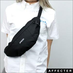 AFFECTER ウエストポーチ AFFBK 黒