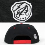 AFFECTER SNAPBACK CAP COLLEGE BLACK ×RED