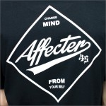 AFFECTER Tシャツ AFFSQ 黒