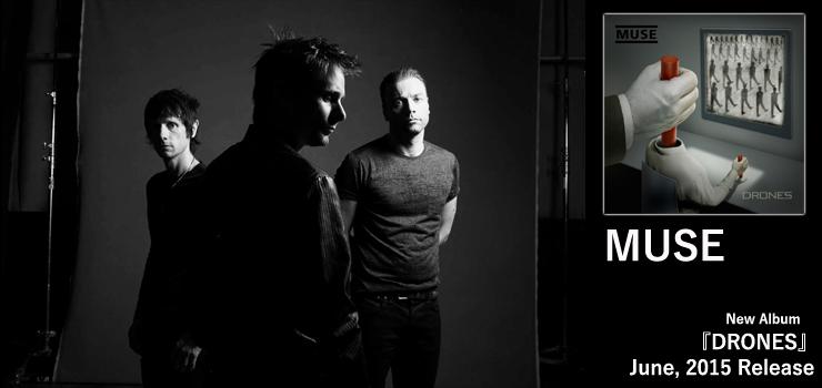MUSE - New Album 『DRONES』 Release
