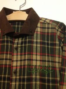 [LOU DOG] LD チェックシャツ-Green-