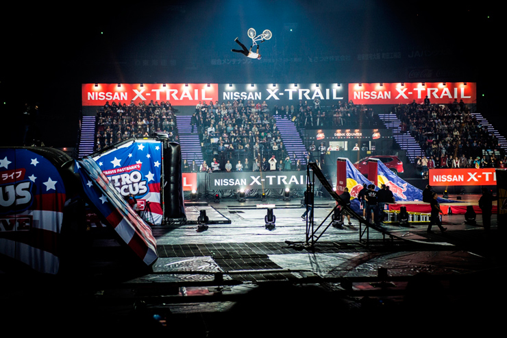 アクション・スポーツ・エンターテイメント 『ナイトロ・サーカス ライブ』 【大阪公演】 REPORT