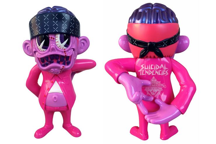 """Suicidal Tendencies x BlackBook Toy コラボフィギュア: S K UM-kun """"Cherry"""" 1.0 edition"""