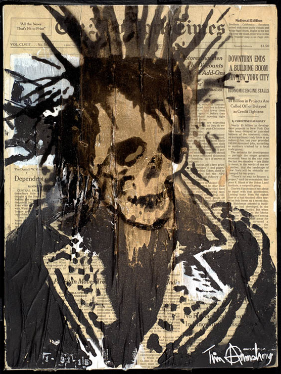 Tim Armstrong Solo Exhibition 『THE WARS END』