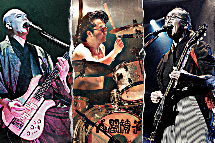 人間椅子 – LIVE DVD / Blu-ray 『苦しみも喜びも夢なればこそ「現世は夢~バンド生活二十五年~」渋谷公会堂公演』 より「なまはげ」の映像&アートワーク公開!