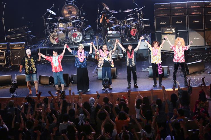 筋肉少女帯人間椅子 - 2015/06/07(sun) at 渋谷公会堂 LIVE REPORT