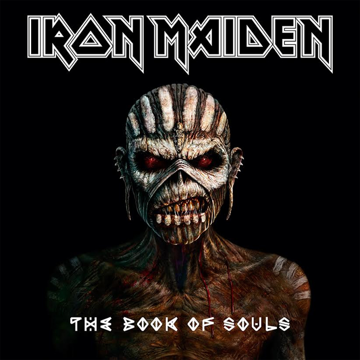 IRON MAIDEN - New Album『THE BOOK OF SOULS』Release