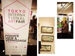 『THE TOKYO INTERNATIONAL ART FAIR』 ( 2015年5月22~23日 at 原宿QUEST HALL ~REPORT~)