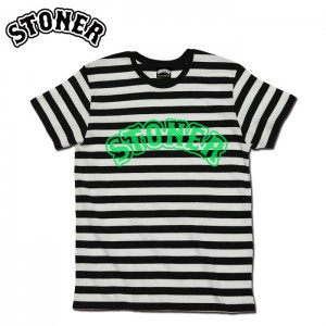 LOGO_BORDER-TEE_LIME GREEN