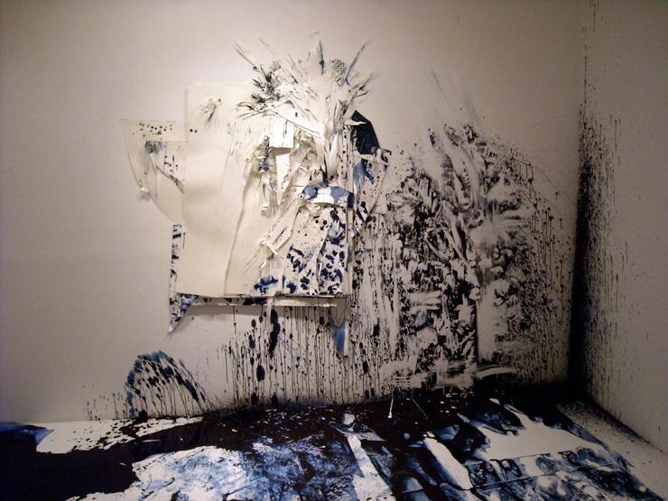 松岡亮 個展『実と花 時と間 葉と月』2015年8月1日(土)~8月31日(月) at BLOCK HOUSE