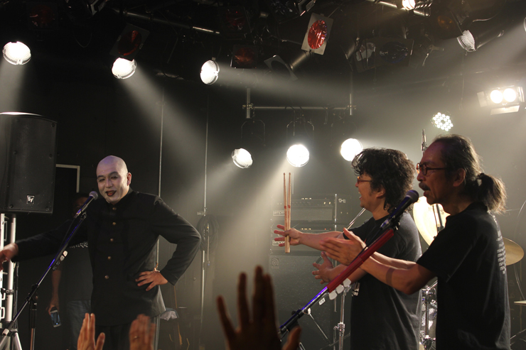 人間椅子 - 青森Quarter 2015.08.01 REPORT