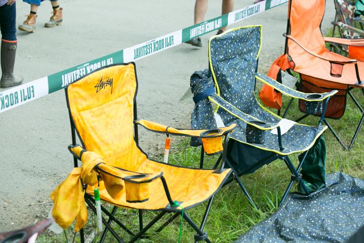 フジロックフェスティバル キャンピングチェアー(椅子)特集 @ FUJI ROCK FESTIVAL '15
