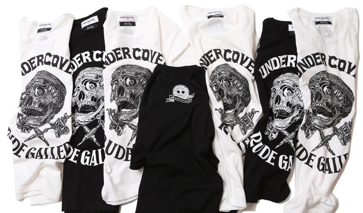 RUDE GALLERY x UNDERCOVER x MAGICAL DESIGN トリプルネーム・スペシャルコラボレーション