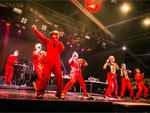 電撃ネットワーク (TOKYO SHOCK BOYS) @ FUJI ROCK FESTIVAL '15 – PHOTO REPORT / A-FILES オルタナティヴ ストリートカルチャー ウェブマガジン