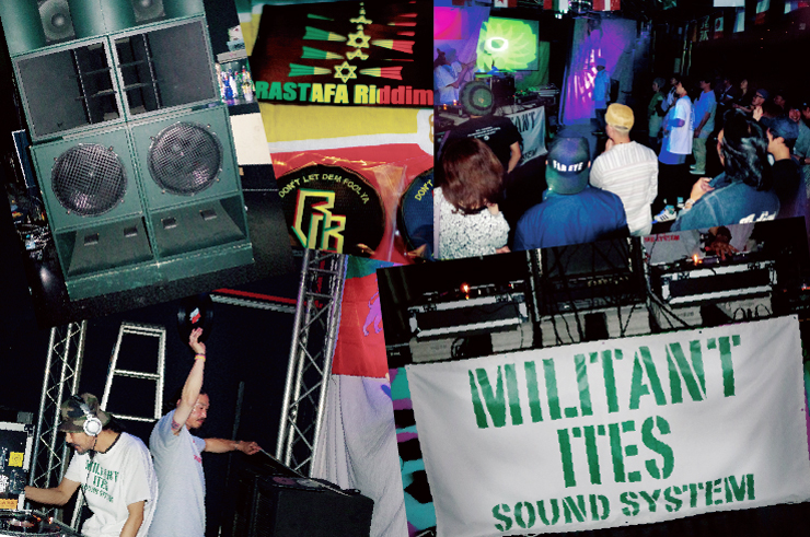 MILITANT ITES SOUND SYSTEM 2015.09.12(SAT) at 相模原 CLUB R -Rainbow