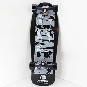 SKULL SKATES x KEMURI コラボレーション・スケートデッキ