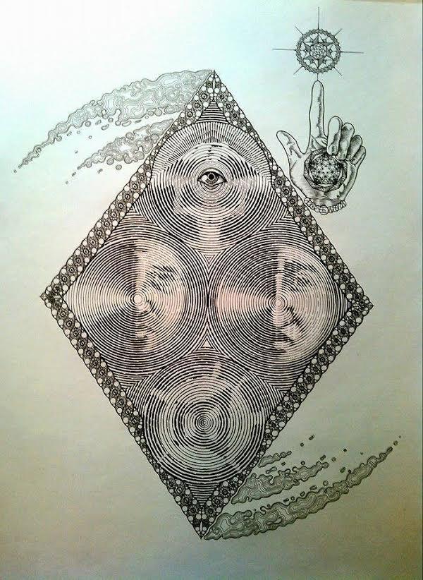 LOUD×神眼芸術コラボTシャツ
