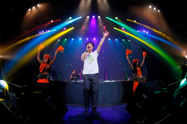 "ザ・ベスト・オブ 藤井隆 ""AUDIO VISUAL""& tofubeats ""POSITIVE"" W release party!  @ 恵比寿The Garden Hall(2015.11.22)  REPORT"
