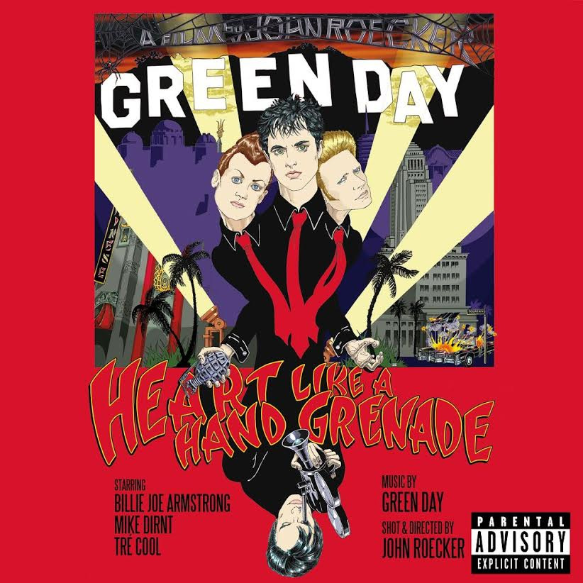 Green Day - ドキュメンタリーDVD『Heart Like A Hand Grenade』Release