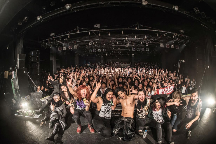 HER NAME IN BLOOD - BEAST MODE TOUR FINAL @ 恵比寿LIQUIDROOM (2016.01.23) REPORT