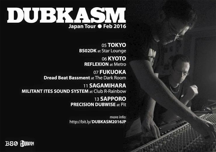 DUBKASM Japan Tour 2016