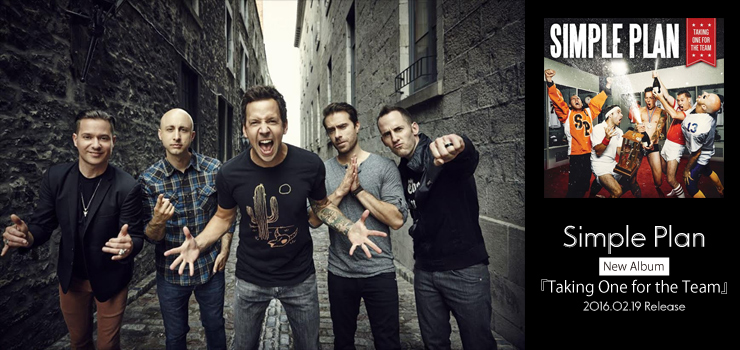 Simple Plan - New Album 『Taking One for the Team』 Release