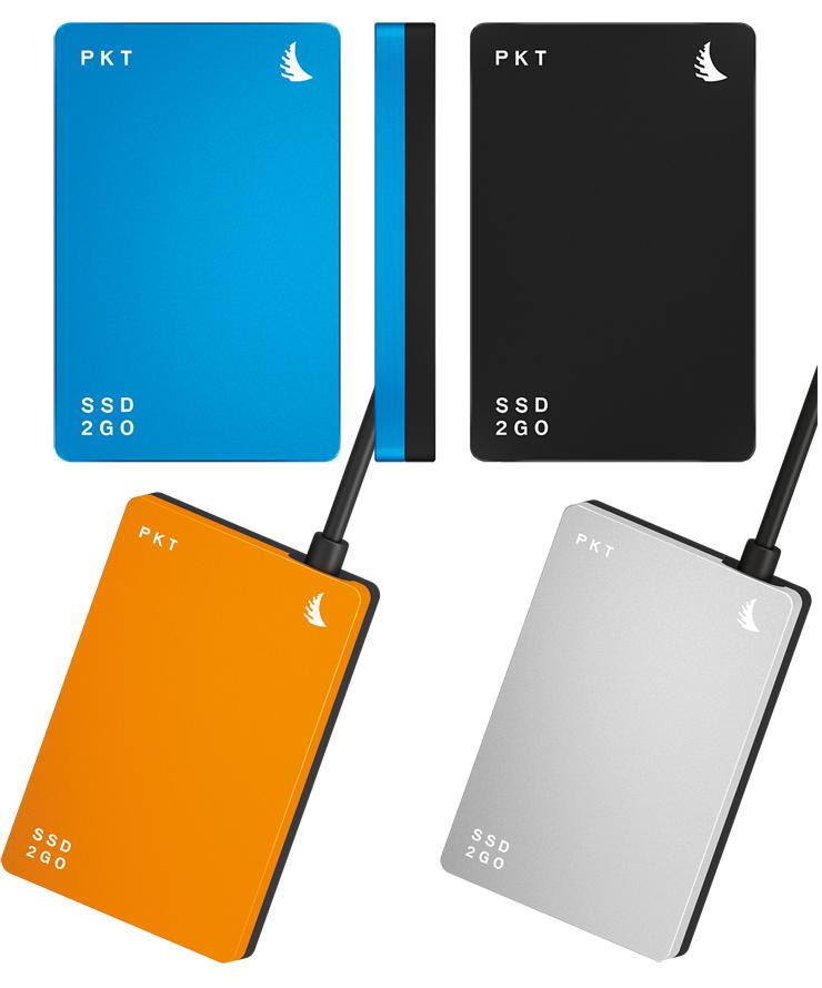 SSD2GO PKT(外付けモバイルSSD)