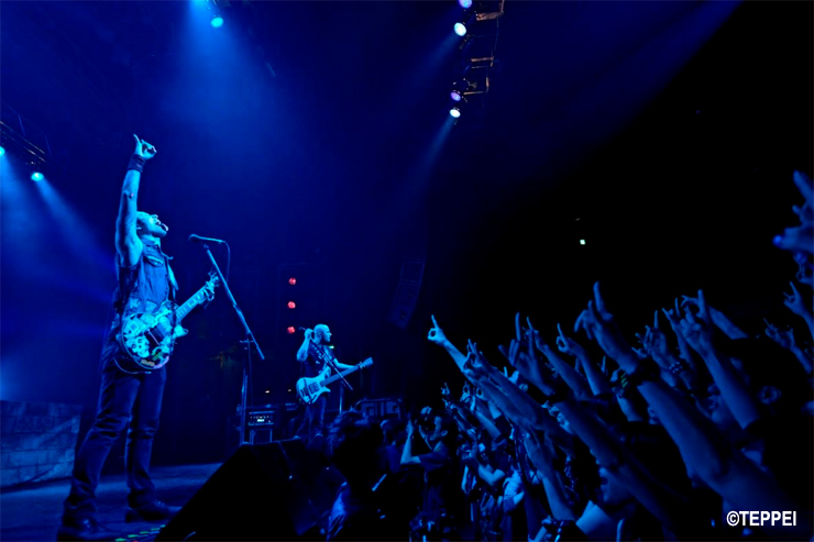 TRIVIUM JAPAN TOUR 2016 at 渋谷TSUTAYA O-EAST(2016.04.05) Support act HER NAME IN BLOOD ~REPORT~