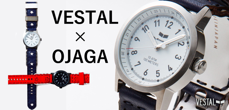 VESTAL - スペシャルコラボ時計第4弾 【VESTAL×OJAGA】