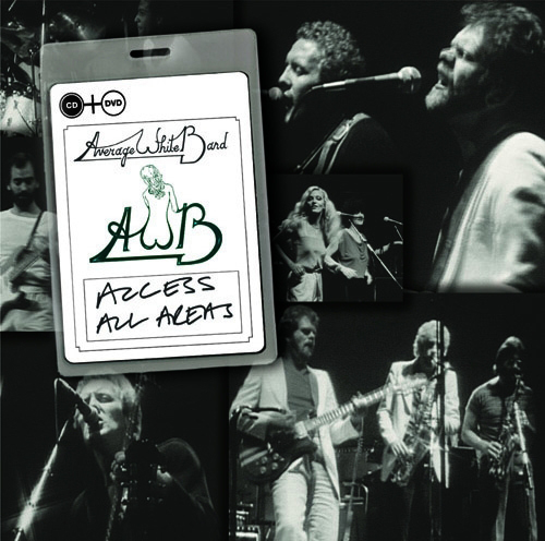 AVERAGE WHITE BAND  『アヴェレージ・ホワイト・バンド/《Access All Areas》 ライヴ 1980(DVD+CD)』 Release