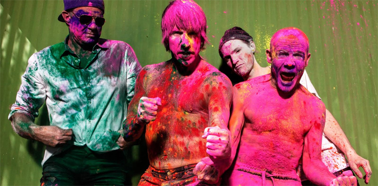 Red Hot Chili Peppers - New Album 『The Getaway』 Release