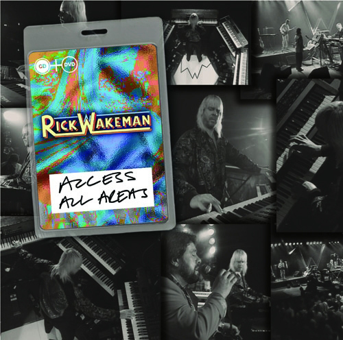 Rick Wakeman 『リック・ウェイクマン/《Access All Areas》 ライヴ 1990(DVD+CD)』 Release