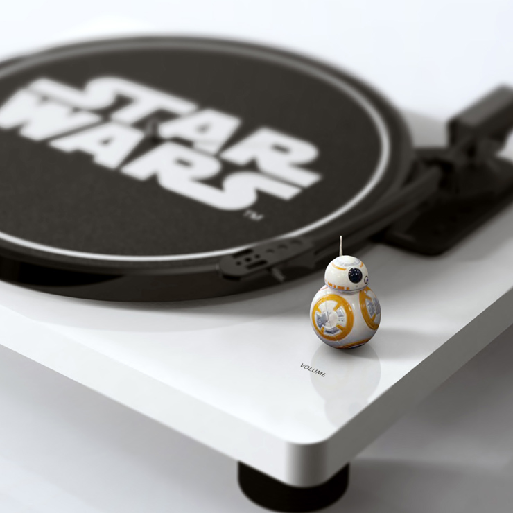 STAR WARS ALL IN ONE RECORD PLAYER 2016年7月発売。