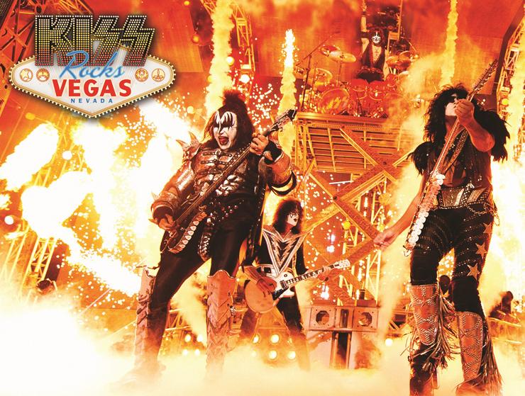 『KISS Rocks VEGAS 1夜限りのアンコール上映会』5.29ジャパン・プレミア上映会完売につき、劇場体感型ライヴを 全国14都市17劇場にて1夜限りのアンコール上映緊急決定!